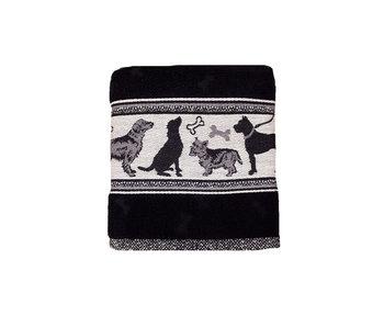 Bunzlau Castle Keukendoek Dog (Black)