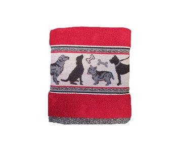 Bunzlau Castle Keukendoek Dog (Red)