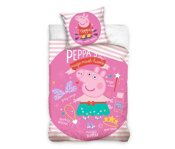 Peppa Pig dekbedovertrek Magic Musthaves (Pink)
