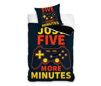 Dekbedovertrek Just Five More Minutes (Multi)