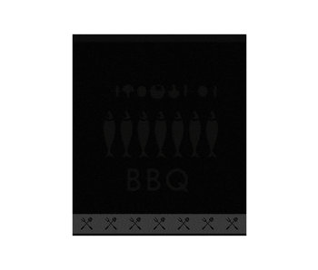 DDDDD Keukendoek Foodbar (Black)