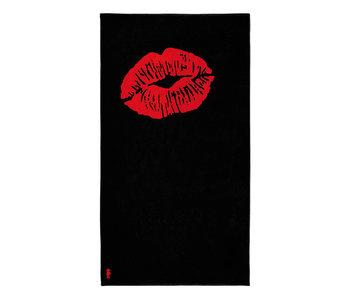 Seahorse Strandlaken Lucky Lips (Black)