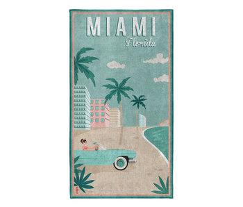 Seahorse Strandlaken Miami (Mint)