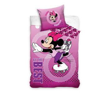 Minnie Mouse dekbedovertrek Be The Best (Pink)
