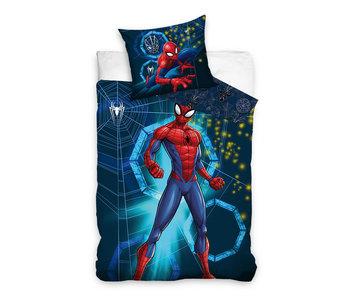 Spider-Man dekbedovertrek Strong Spidy (Blue)
