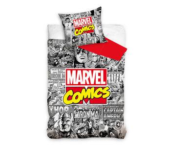 Avengers dekbedovertrek Comic (Grey)