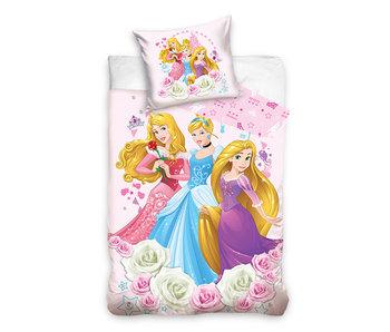 Disney Princess dekbedovertrek Roses (Pink)