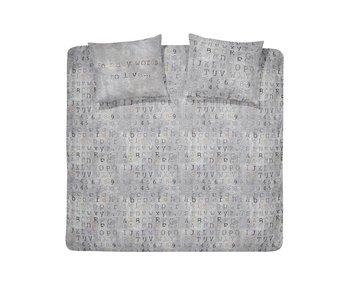 Damai Flanel Carve (Grey)