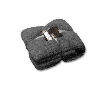 Unique Living Plaid Teddy (Dark Grey)