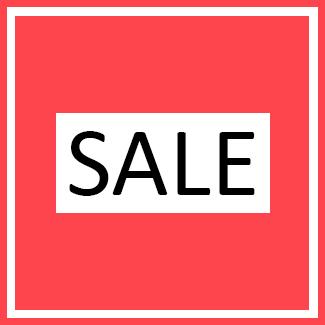 Sale - Opruiming - Artikelen met minimaal 25% korting!