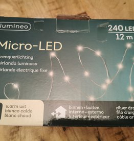 Micro - LED Strengverlichtung 240er LED in- und outdoor