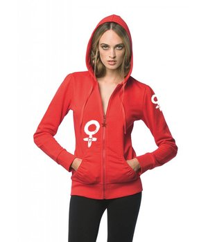 Hooded sweater - Female sign