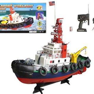 Heng Long Afstandsbestuurbare sleepboot met waterkanon 1:10
