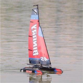 Amewi RC Zeilboot Catamaran Binary 1:46