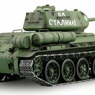Heng Long Afstandbestuurbare tank T-34/85 1:16