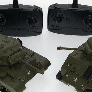 Rc tanks Battle set 1:30 (twee stuks, fighting set)