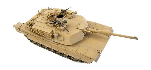 U.S. Army oefent met afstand bestuurbare tanks