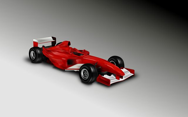 RC Formule 1 auto uit de 3D printer