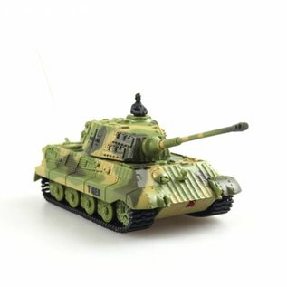 Bestuurbare tank Mini King Tiger 1:72