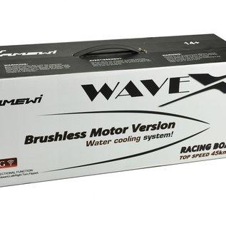 Bestuurbare boot Wave X Brushless 1:25