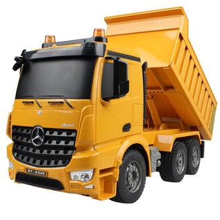 Afstandbestuurbare Kipper vrachtwagen Mercedes-Benz Arocs 1:20