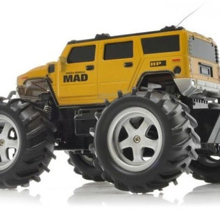Radiografische monstertruck Mad Hummer 1:16