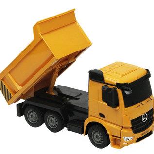 Kipper RC vrachtwagen Mercedes-Benz Arocs 1:26
