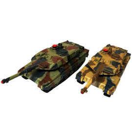 Leopard Battle Tanks 1:24 (twee stuks, fighting set)
