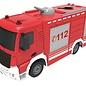 Double Horse RC brandweerwagen met waterspuit 1:26