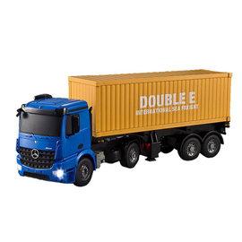 Vrachtwagen Mercedes Arocs met oplegger 1:20