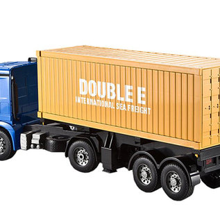 Radiografische vrachtwagen Mercedes Arocs met oplegger 1:20