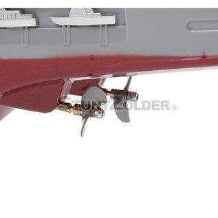 Rc boot Challenger vliegdekschip 1:275