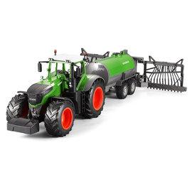 Double Horse Tractor XL met sproeiwagen 1:16