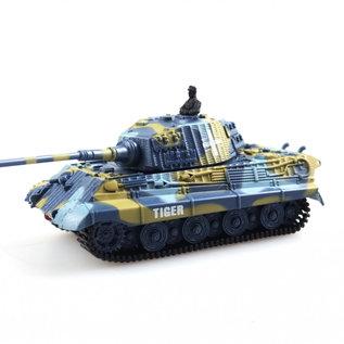 Bestuurbare tank Mini King Tiger 1:72
