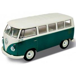Welly Volkswagen Bus T1 Groen 1:16