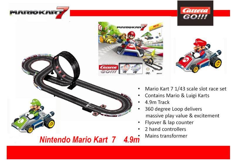 RC Racebaan Mariokart 7 1:43 StuntZolder.nl
