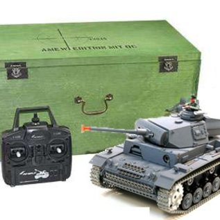 Heng Long Radiografische tank Panzerkampfwagen III 1:16 PRO