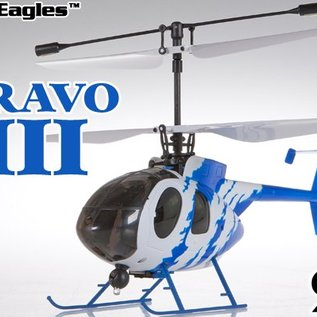 Nine Eagles Afstandbestuurbare helicopter Bravo 3 (4-Kanaals)