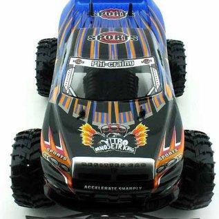 Newqida Radiografische Monster Truck Shocker 1:10