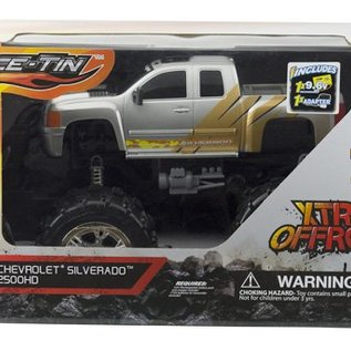 Race Tin Radiografische Monster Truck Chevrolet Silverado 1:10