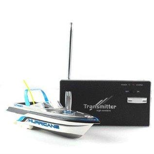 Amewi Mini bestuurbare speedboot Hurricane 1:52
