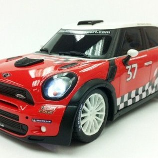 Race Tin Bestuurbare auto Mini Countryman WRC 1:16