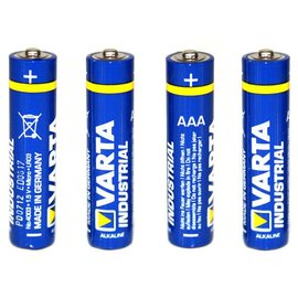 Micro Penlite batterijen AAA 1.5V (per 4 stuks)