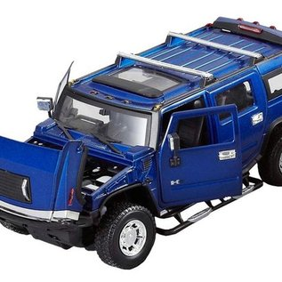 MZ Model Afstandbestuurbare Hummer H2 1:24 (metaal)