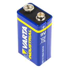Blokbatterij 9 Volt