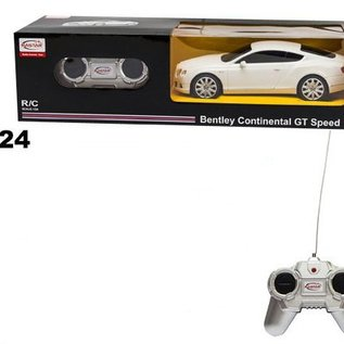 Rastar Rc auto Bentley Continental GT Speed 1:24
