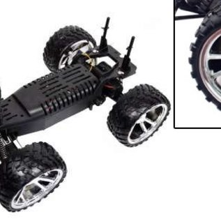 Newqida Radiografische Monstertruck Rex 1:10