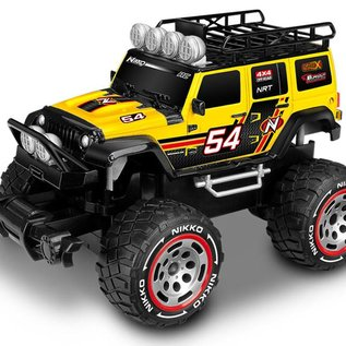 Nikko R/C RC Monstertruck Jeep Wrangler 1:18