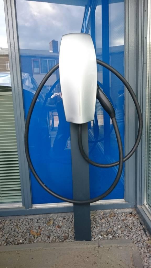 ev-laadpaal.nl Aluminiumpaal voor laadpunt  9x9x183