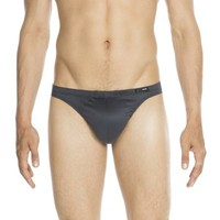 HOM Premium Cotton Comfort Micro Briefs Grey